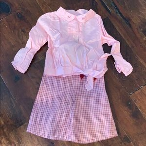 Janie and Jack, two piece outfit 2T